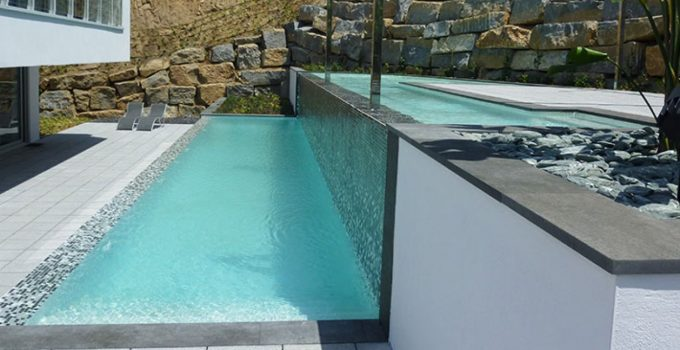 Las piscinas desbordantes
