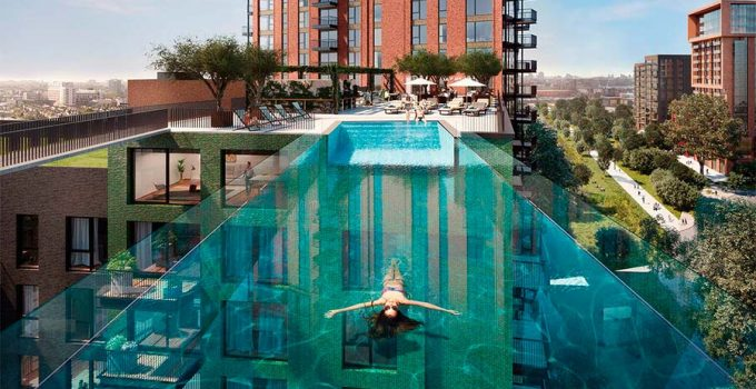 Sky Pool del Embassy Gardens Estate